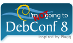 I'm NOT going to DebConf